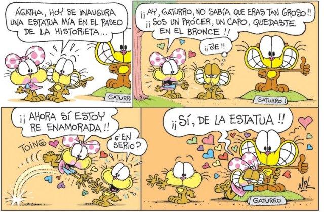 ¡La nueva historieta de Gaturro!